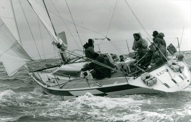 These Dehler GRP production boats were winning almost all important races ...